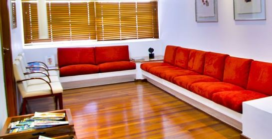 Waiting room furniture for adults and kids